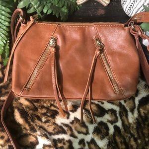 Joes Chestnut Josie leather bag